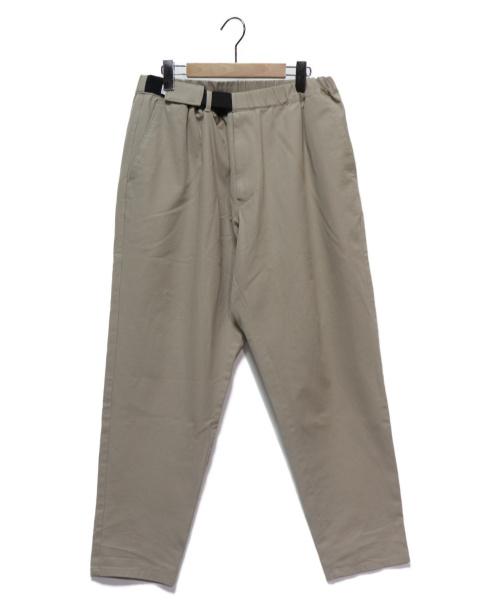 Graphpaper(グラフペーパー)Graphpaper (グラフペーパー) COTTON TWILL Cook Pants ベージュ サイズ:FREEの古着・服飾アイテム
