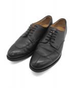Lloyd Footwear(ロイドフットウェア)の古着「Uチップシューズ」|ブラック