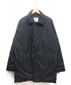 NANGA(ナンガ)の古着「ダウンステンカラーコート」 ネイビー