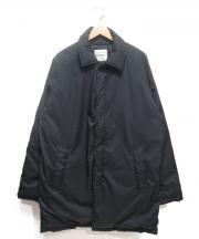 NANGA(ナンガ)の古着「ダウンステンカラーコート」|ネイビー