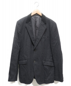 COMME des GARCONS HOMME(コムデギャルソンオム)の古着「ウール2Bジャケット」|グレー