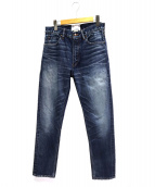 nanamica(ナナミカ)の古着「5pockets Tapered Pants」|インディゴ