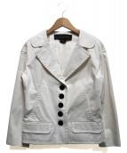 LOUIS VUITTON(ルイヴィトン)の古着「ストレッチジャケット」|ホワイト