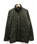Barbour(バブアー)の古着「POLARQUILT SHORTキルティングジャケット」|オリーブ
