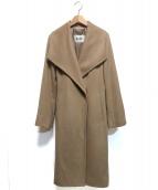 ROPE(ロペ)の古着「プレミアムカシミヤ2WAYコート」|キャメル