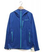 Patagonia(パタゴニア)の古着「ストレッチレインシャドージャケット」|ブルー