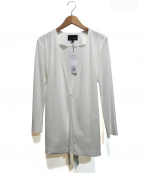 22 OCTOBRE(22オクトーブル)の古着「ノーカラージャケット」|ホワイト