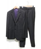 Paul Smith London(ポールスミスロンドン)の古着「ロロピアーナ2Bスーツ」|ブラック