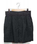 MM6 Maison Margiela(エムエムシックス メゾンマルジェラ)の古着「ショートパンツ」|ブラック