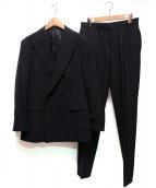 UNIVERSAL LANGUAGE(ユニバーサルランゲージ)の古着「ダブルセットアップスーツ」|ブラック