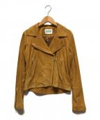 ROPE(ロペ)の古着「ゴートスウェードライダース」|ブラウン