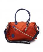 Orobianco(オロビアンコ)の古着「2WAYトートバッグ」|オレンジ×ブルー