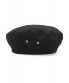 FUMIKA UCHIDA(フミカウチダ)の古着「ベレー帽」|ブラック