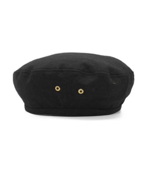 FUMIKA UCHIDA(フミカウチダ)FUMIKA UCHIDA (フミカウチダ) ベレー帽 ブラックの古着・服飾アイテム