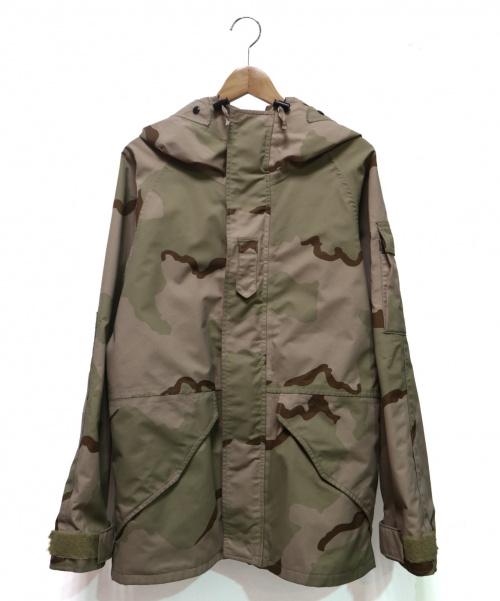 US ARMY(ユーエスアーミー)US ARMY (ユーエスアーミー) ECWCS GORE-TEX マウンテンパーカー ベージュ サイズ:SMALL-REGULER デザートカモ PARKA COLD WEATHERの古着・服飾アイテム