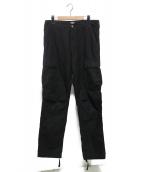 Carhartt WIP(カーハート ダブリューアイピー)の古着「Regular cargo pant」|ブラック