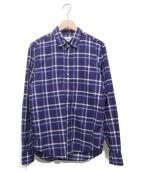 Frank&Eileen(フランクアンドアイリーン)の古着「PAULチェックシャツ」|ブルー