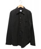 POST OALLS(ポストオーバーオールズ)の古着「The POST III-R CTシャツ」 ブラウン