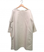 45R()の古着「バックリボンカットソーワンピース」|アイボリー