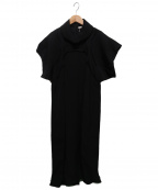 CELINE(セリーヌ)の古着「ブラウスワンピース」|ブラック