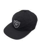 FLAGSTUFF(フラッグスタッフ)の古着「Team 6PANEL CAP」|ブラック