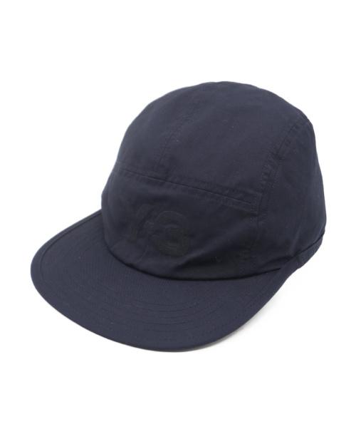 Y-3(ワイスリー)Y-3 (ワイスリー) REVERSIBLE CAP ブラック×ネイビーの古着・服飾アイテム