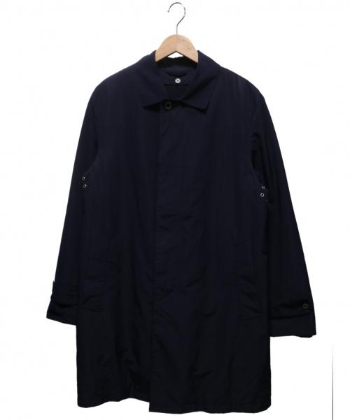 MACKINTOSH PHILOSOPHY(マッキントッシュフィロソフィー)MACKINTOSH PHILOSOPHY (マッキントッシュフィロソフィー) ライナー付ステンカラーコート ネイビー サイズ:42 TOROTTERの古着・服飾アイテム