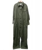 US ARMY(ユーエスアーミー)の古着「90'Sコットンサテンジャンプスーツ」|オリーブ