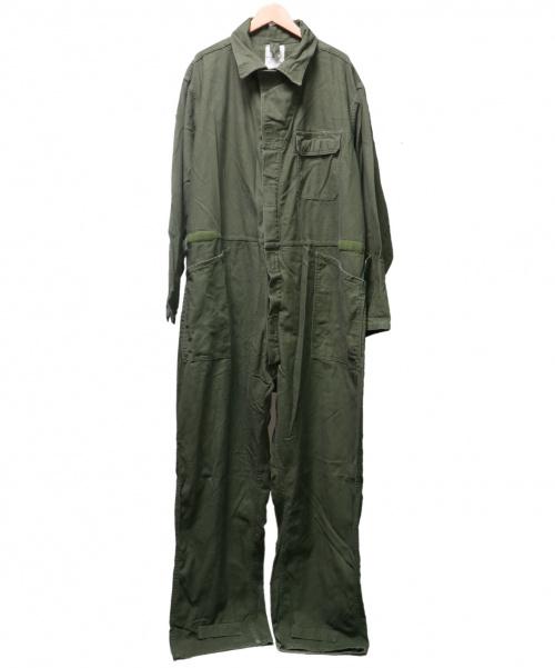 US ARMY(ユーエスアーミー)US ARMY (ユーエスアーミー) 90'Sコットンサテンジャンプスーツ オリーブ サイズ:XXLの古着・服飾アイテム