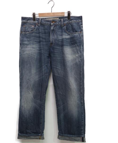 PT05(ピーティーゼロチンクエ)PT05 (ピーティーゼロチンクエ) RURAL TAYLOR加工デニムパンツ インディゴ サイズ:36 CA02の古着・服飾アイテム