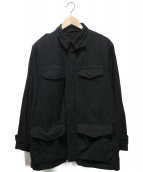 FRENCH ARMY(フレンチアーミー)の古着「後染めM47フィールドジャケット」|ブラック
