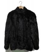 SAGA MINK(サガミンク)の古着「ミンクファージャケット」 ブラック