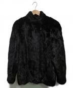 SAGA MINK(サガミンク)の古着「ミンクファージャケット」|ブラック