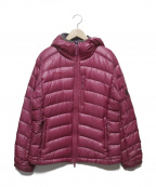 MAMMUT()の古着「gravity hooded down jacket」|ピンク