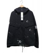 nanamica(ナナミカ)の古着「ALPHADRY Hooded Parka」|ブラック