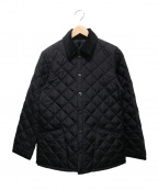 Barbour()の古着「NEW LIDDESDALE NYLONキルティングジャケッ」 ブラック