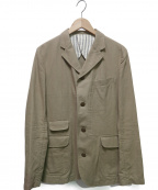 PHIGVEL(フィグベル)の古着「4Bジャケット」|ベージュ