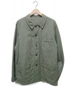 EURO古着(ユーロ古着)の古着「フレンチワークカバーオール」|グリーン