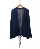 45R(フォーティファイブアール)の古着「コットンリネンデニムのハッピィ」|インディゴ