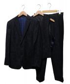 LANVIN COLLECTION(ランバンコレクション)の古着「ジャガード3ピーススーツ」|ネイビー