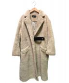 UNITED TOKYO(ユナイテッドトウキョウ)の古着「ボアテーラードコート」|ベージュ