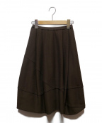 FOXEY BOUTIQUE(フォクシー ブティック)の古着「ニットバルーンスカート」|ブラウン