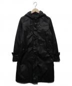 Traditional Weatherwear()の古着「中綿フーデッドコート」 ブラック