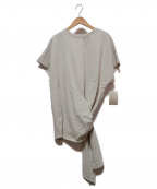 LE PHIL(ル フィル)の古着「デザインカットソー」 ライトグレー