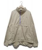 NIKE ACG(ナイキエィシージー)の古着「ハーフジップジャケット」 ベージュ