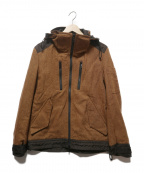 BURBERRY BLACK LABEL()の古着「ジップアップジャケット」|ブラウン