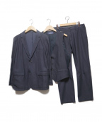SOLIDO(ソリード)の古着「3ピーススーツ」|ネイビー