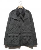 HACKETT(ハケット)の古着「中綿キルティングジャケット」 グレー