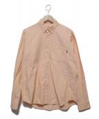 SUPREME(シュプリーム)の古着「ボタンダウンシャツ」|オレンジ