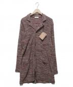 IROQUOIS(イロコイ)の古着「ニットジャケット」 レッド